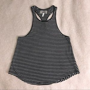 High Neck Racerback Tank by The Hanger Size  Small